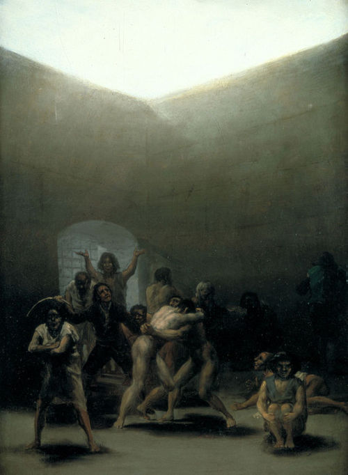 Yard with Lunatics by Francisco Goya.
