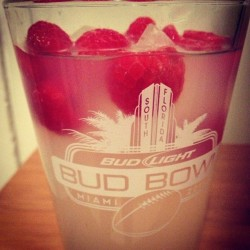 #lemonade #raspberries #ice #beerglass #love #drink #delicious
