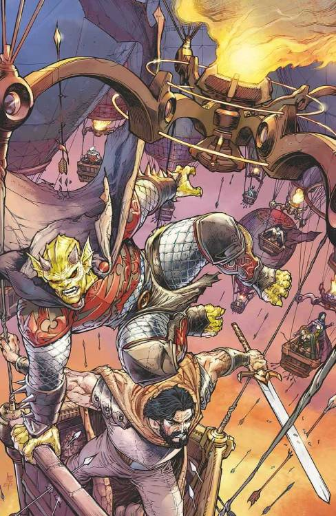 Demon Knight #23(vía DC Cancels 'Demon Knights', 'Dial H', 'Legion of Super-Heroes', & 'Threshold' -)