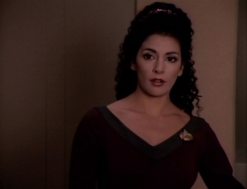 Ugh. Deanna Troi is so perfect.