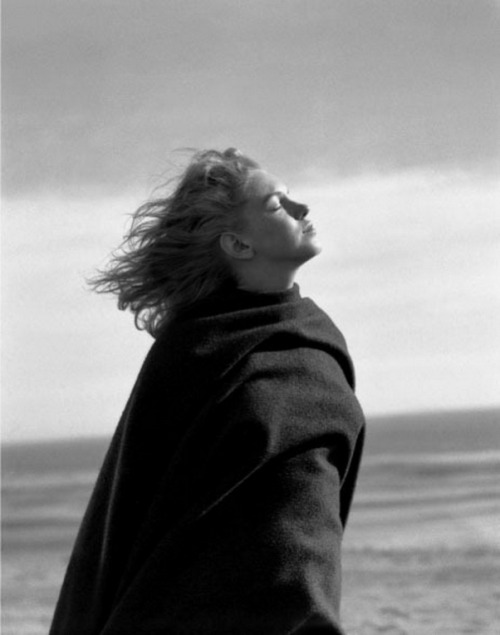 "marilynmonroevideoarchives: "" Marilyn Monroe At 20 Upclose And Personal In 1946 On The Beach - Andre De Dienes session Photos of Marilyn taken by Andre DeDienes. Happiness, surprise, reflection, doubt.peace of mind, sadness, self-torment and death,..."
