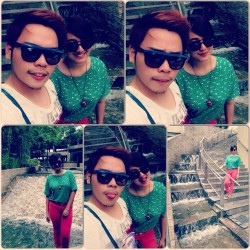 8-) #love #happytogether #couple #instalove #instacouple #sunnies #green #pink #lateupload