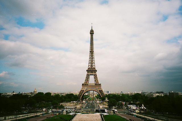 | ♕ |  on a clear day in Paris  | by © James Doyle