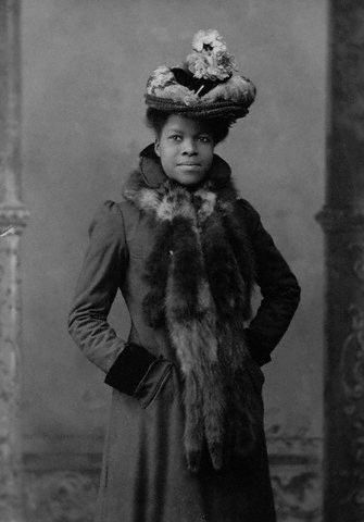 "vintageblackglamour:  Pioneering educator Nannie Helen Burroughs (1879-1961) sometime in the 1910s. Born in Orange, Virginia, Ms. Burroughs graduated with honors from the Colored High School, which would later become M Street School and then Dunbar High School. Best know as the founder of the National Trade and Professional School for Women and Girls, Ms. Burroughs was an early advocate for teaching African American History and students had to pass a course in black history in order to graduate. A member of the National Association of Colored Women among other civic and religious advocacy groups, Ms. Burroughs was appointed to a special committee on African Americans and housing by President Herbert Hoover. Also a leader in religion, she helped found the Women's Auxiliary of the National Baptist Convention.  Ms. Burroughs also had a special connection to Rev. Martin Luther King, Jr. A longtime friend of his parents, Ms. Burroughs wrote a letter to Dr. King's mother, Mrs. Alberta King on February 4, 1956 during the course of the Montgomery Bus Boycott and told her how impressed she was with the ""calm, sure way that Junior is standing up for right and righteousness."" Photo: The Library of Congress"