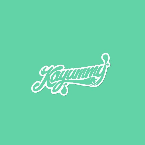 #Kayummy brand done. / #pixelgnow / #Branding #design at @pixelgdesign #studio / #logo #lettering #script #cream #food #project  (presso WebPaté)
