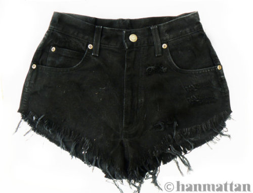 Denim shorts from Hanmattan