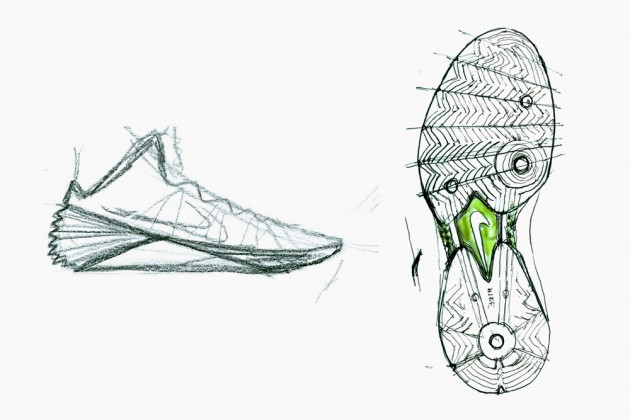 The new 2013 Nike Hyperdunk development process.