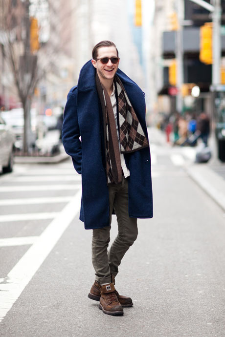 details:  Street Style: The Coat Makes the Man