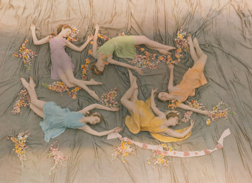 A group of dancers perform at the Mississippi State College for Women, 1937.Photograph by J. Baylor Roberts, National Geographic