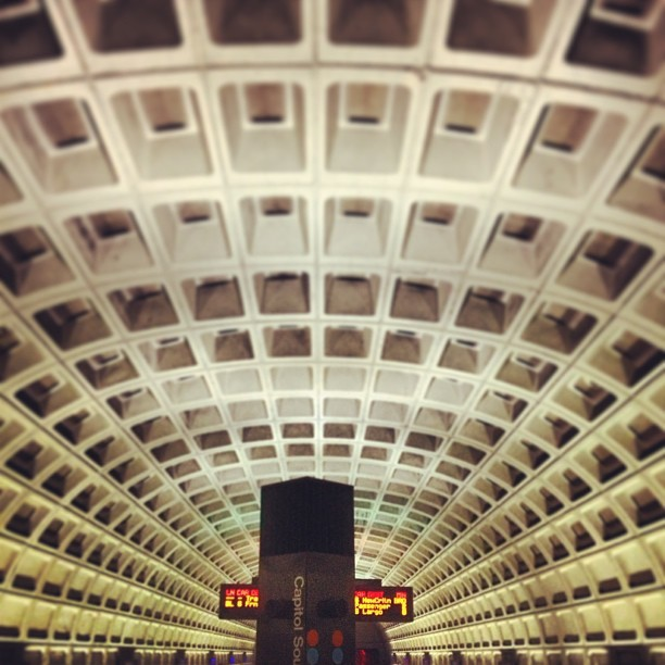 #dc #metro (at The Bat Cave)