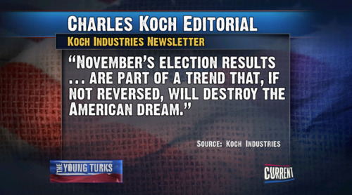 Charles Koch Quote about November Election