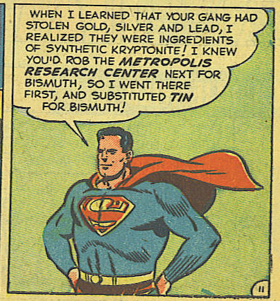 The recipe for Kryptonite