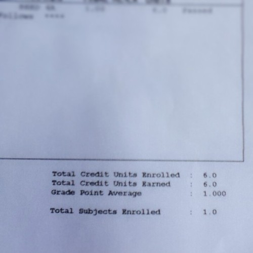 Got my last grade :) #instapicture #ig #igers #boy #grade #great #school #final #happy #me