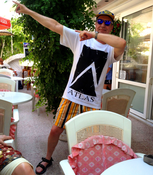 If you want to look as cool as Uncle Tim did in Turkey then head over to our Big Cartel! We have the last 5 of these shirts and they're only £4.50 each.www.atlas.bigcartel.com