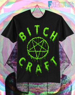 """BITCH CRAFT"" TSHIRT $32.99"