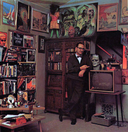 swampthingy:  The Ackermansion, with its proprietor.