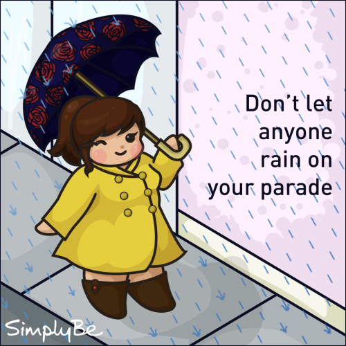 simplybefashion:  Enjoy April Showers :)  I'm not sure how I forgot to mention it, but I've been doing drawings for Simply Be's Facebook page for the past few months! This one is my favorite so far :)