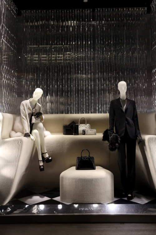 Prada Holiday Windows. 2012