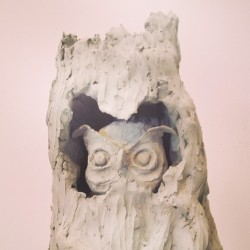 #owls #hoot #clay #sculpture #art #moca @imroby owls!! (at The Geffen Contemporary (MoCA))