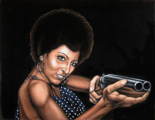 fuckyeablackart:  Coffy by ~BruceWhite