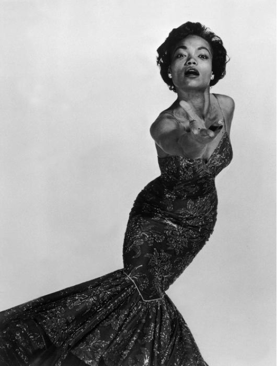 theniftyfifties:  Eartha Kitt photographed by Philippe Halsman, 1954.  My inner woman is Eartha Kitt.