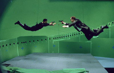 The Matrix behind the scenes