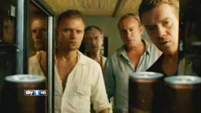 From the Come Home to Sky advert - Screencap from Mad Dogs Series 3