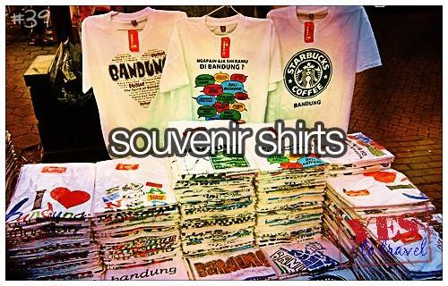 Bandung Souvenir Shirts