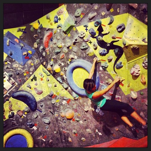 FUN!! But… I think I need a rest after this! (at Climb Asia)