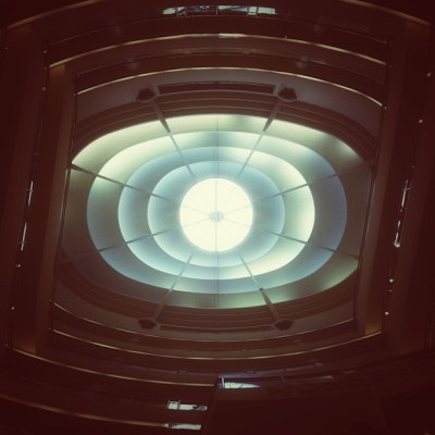 always looking up. (at Westfield San Francisco Centre)