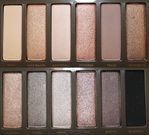 -revive:  The naked palettes by urban decay