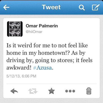 Hometown feeling… Awkward! 😔😒😞😣 #Azusa #hometown #awkward #merp