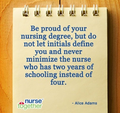 thankyounurses:  Be a great nurse by showing respect to all nurses.