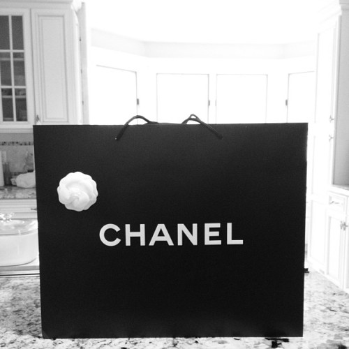 Mama got a new baby from the pre fall collection. #Chanel