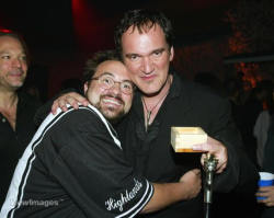 fuckyeahdirectors:  Kevin Smith and Quentin Tarantino
