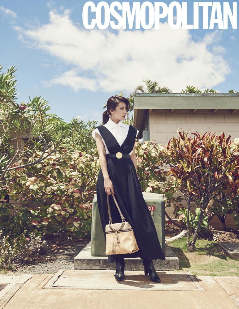 Ha Ji Won 하지원 - Cosmopolitan Magazine October Issue '15 Pics 02