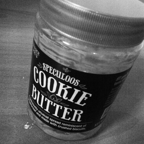 Farewell to you my #speculoos #cookiebutter. It's been an awesome 2 weeks. Sorry it couldn't last for a long time. Until we meet again or someone buys or should I say hoard for me and @alexkhamyle then #itsgoingtobeawesome once again.