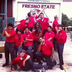 One last group photo :) #bulldogbeat #bmb #fresnostate  (at Fresno Convention & Entertainment Center)