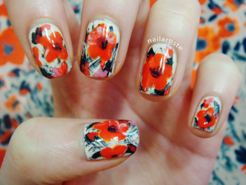 jcraynails:  Fun flowers