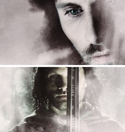 I am Aragorn son of Arathorn and am called Elessar, the Elfstone, Dunadan, the heir of Isildur Elendil's son of Gondor