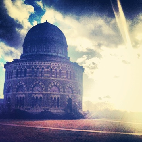Welcome back to #SpringatU (photo by Maura Driscoll '15) Share your pictures to the #SpringatU hash tag and we'll share them!