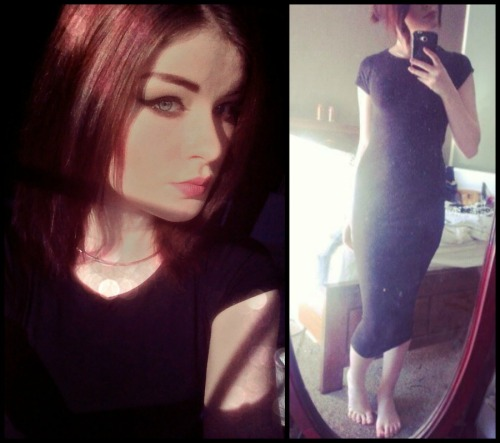 my midi dress arrived, hoorah
