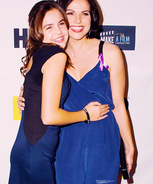 Lana and Bailee at The Magic Bracelet premiere