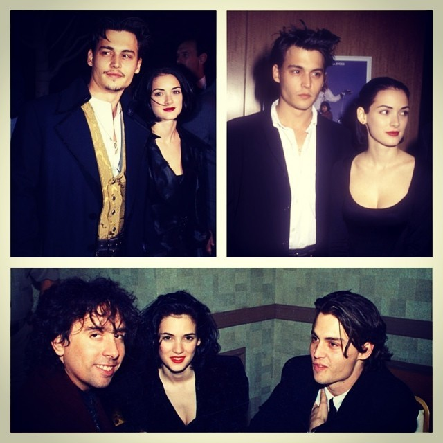 vivianecris:  Tim, Johnny e Winona <3