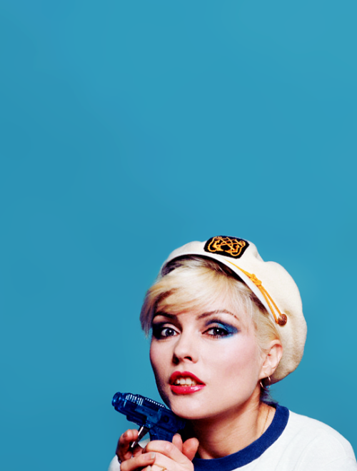 vintagegal:  Debbie Harry photographed by Lynn Goldsmith