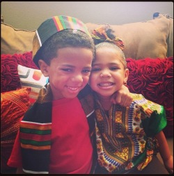 brownskinshaggedoutfro:  The Game's kids are the cutest