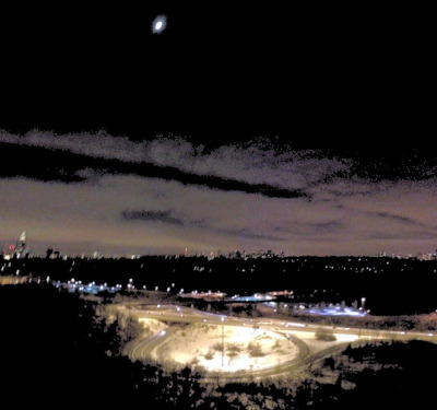 Moon over DVP on Flickr.