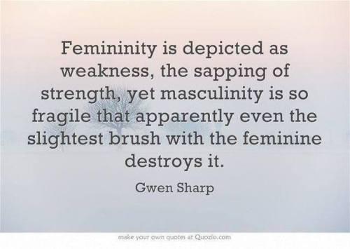 femininity masculinity