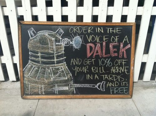 stealatimelord:    Awesome Doctor-Whoness!