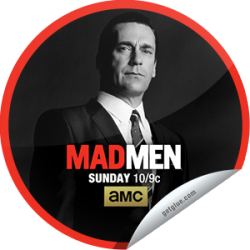 I just unlocked the Mad Men: The Crash sticker on GetGlue                      7812 others have also unlocked the Mad Men: The Crash sticker on GetGlue.com                  Don is disrupted by a surprise visitor and Peggy looks for inspiration. Share this one proudly. It's from our friends at AMC.